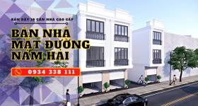 Mở bán 19 căn nhà tại đường Nam Hải, Hải An, Hải Phòng