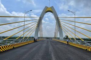 Cầu Quang Thanh dự kiến hoàn thành ngày 20/6/2021