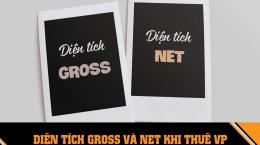 Thuê văn phòng diện tích Gross và diện tích Net
