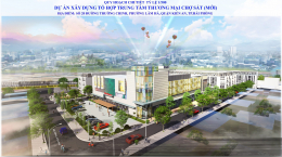 Công bố quy hoạch dự án trung tâm thương mại Chợ Sắt mới tại quận Kiến An