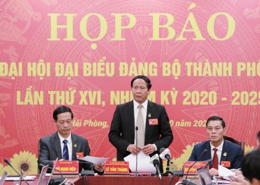 Kết quả Đại hội Đảng Thành phố lần thứ 16: Hải Phòng mục tiêu bức phá vào năm 2025