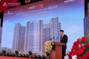 Hoàng Huy: Khởi công dự án tổ hợp 3 tòa nhà phức hợp cao cấp Hoàng Huy Commerce