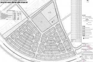Đồ án lập quy hoạch 1/500 dự án tái định cư trên khu đất 9,2 ha phường Thành Tô