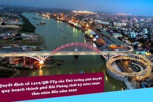 Phê duyệt quy hoạch thành phố Hải Phòng giai đoạn 2021 - 2030