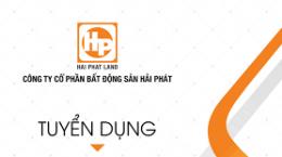 Hải Phát Land - Hải Phòng: tuyền dụng nhân viên kinh doanh BĐS