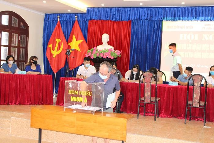 18 hộ dân được bố trí về chung cư HH4 Đổng Quốc Bình (1)